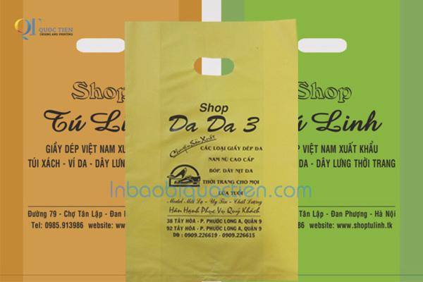 In Bao Bì Quốc Tiến - Túi nilon HDPE đựng quần áo cho cửa hàng