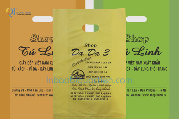 In Bao Bì Quốc Tiến - Tại sao doanh nên in túi nilon 1
